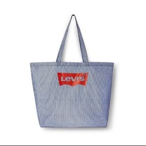 LEVI'S Navy Large Reuseable Tote